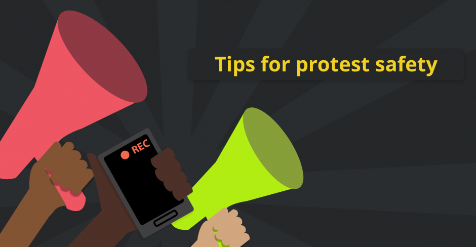 Image for Tips for protest safety during the pandemic