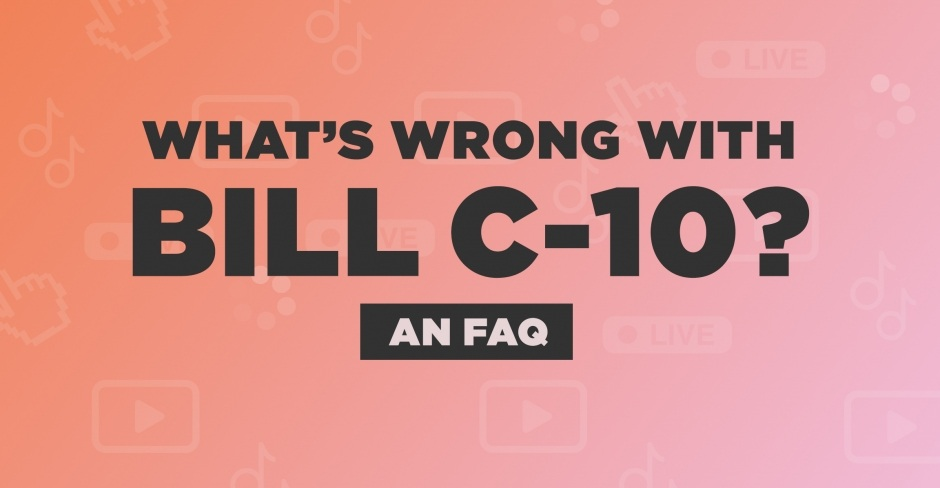Image for What's wrong with Bill C-10? An FAQ