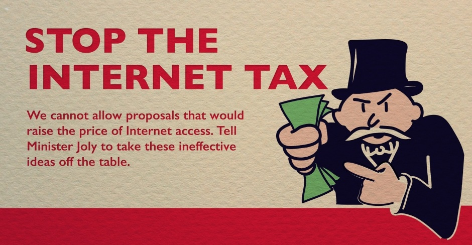 Image for Internet Tax proposed by CRTC would raise cost of online access for everyone in Canada