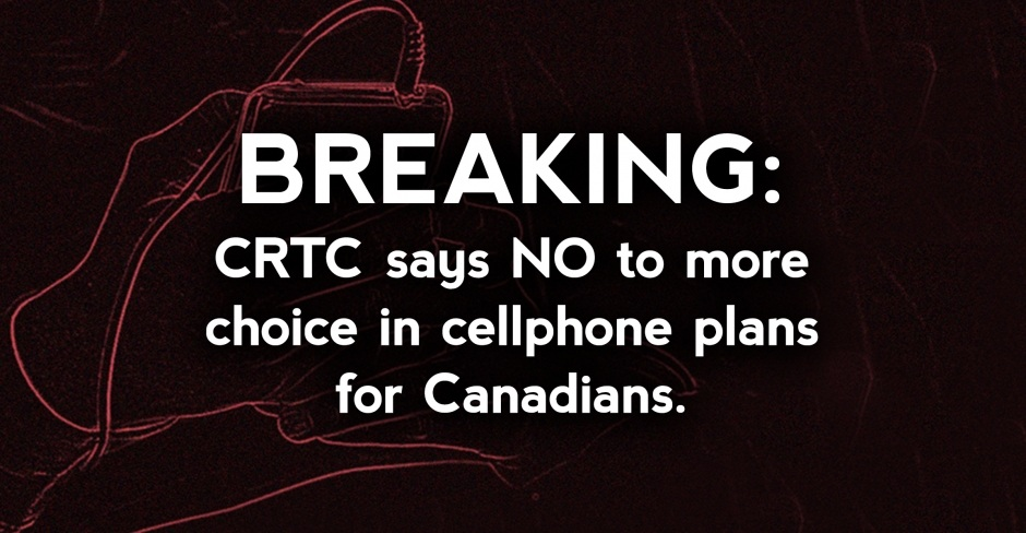 Image for CRTC rejects opportunity to bring increased competition to Canada's wireless market
