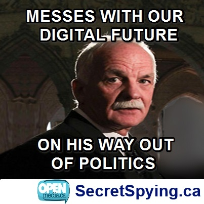Image for MP behind defeated online spying bill will leave politics