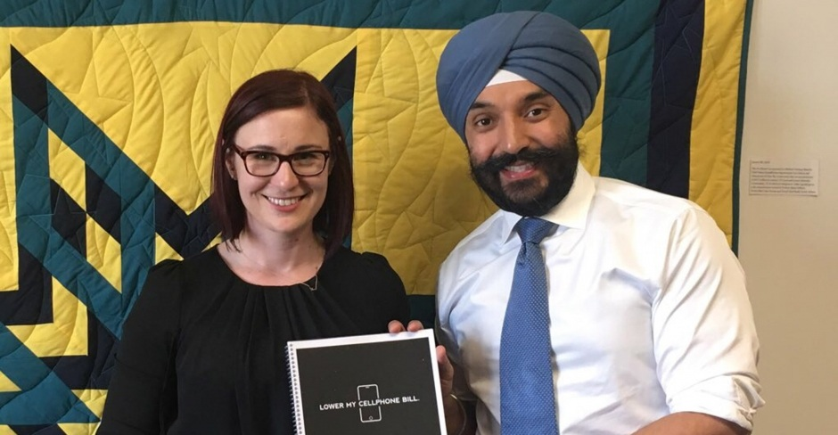 Image for Here's what happened when we met with Minister Bains