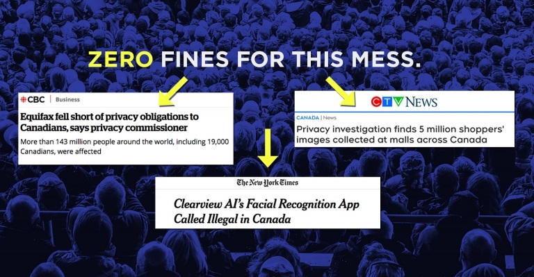 Image for Ask your MP to fix Bill C-11 and #FixPrivacy in Canada