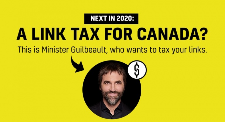 Image for Tell Minister Guilbeault to kill the Link Tax NOW!
