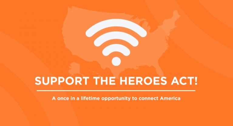 Image for The HEROES Act: A generational opportunity to connect America!