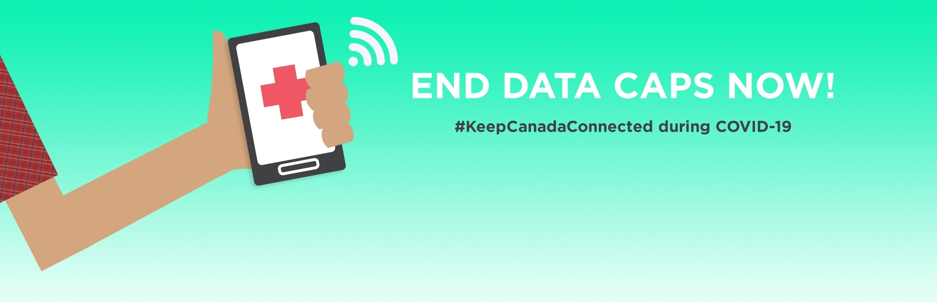 Let's end data caps and #KeepCanadaConnected