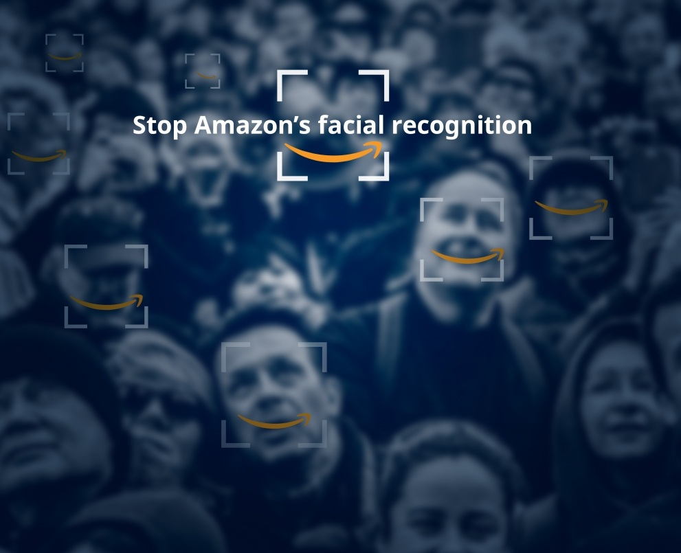 Tell Amazon: Stop facial recognition surveillance sales NOW