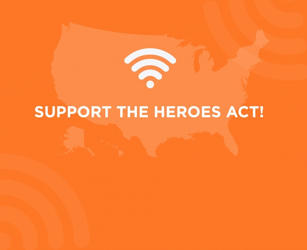 The HEROES Act: A generational opportunity to connect America!