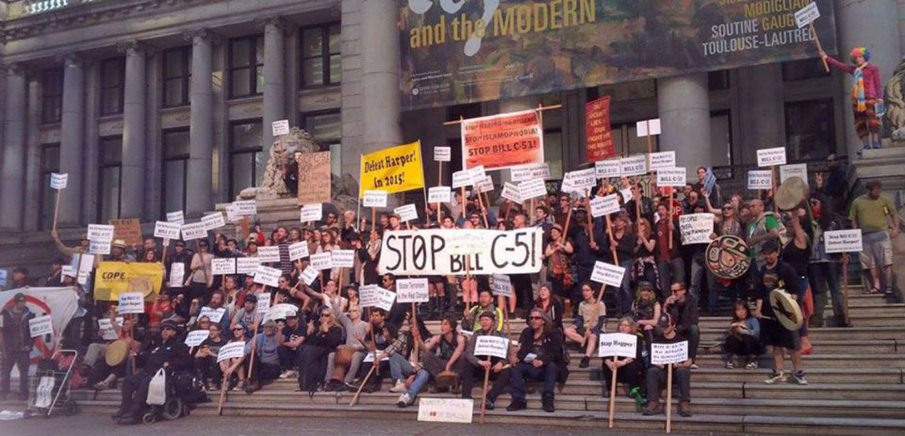 C51 protest in Vancouver