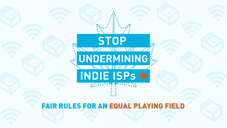Stop undermining indie ISPs