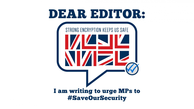 UK Encryption SOS