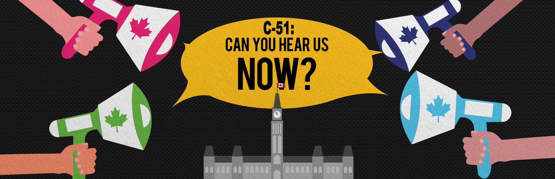 Demand a real, public consultation that will let us Kill Bill C-51