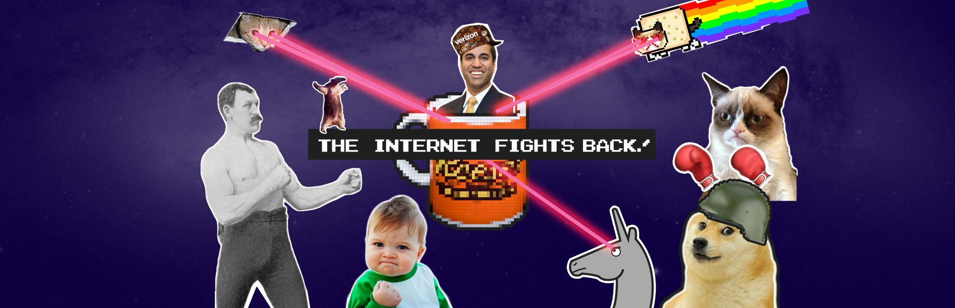 Net Neutrality: The Internet Fights Back​