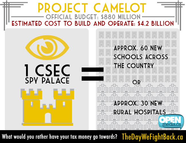 Image for Huge $385m leap in CSEC budget: taxpayers on hook for lavish spy palace