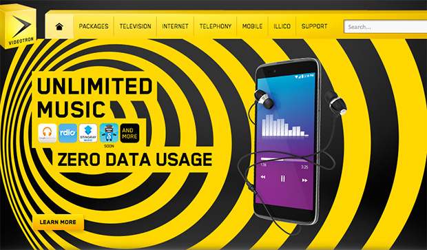 Image for Arstechnica: Videotron provoking net neutrality fight with unlimited music
