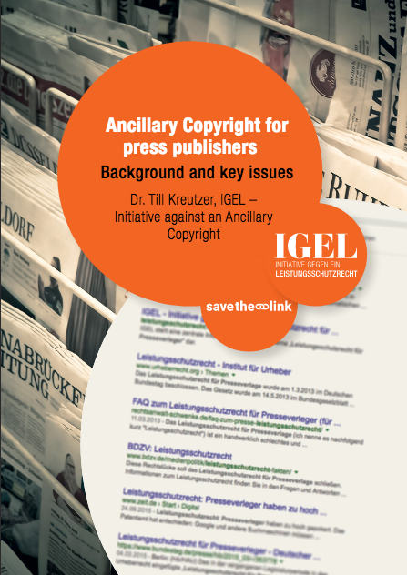 Profile picture of Ancillary Copyright for press publishers – background and key issues