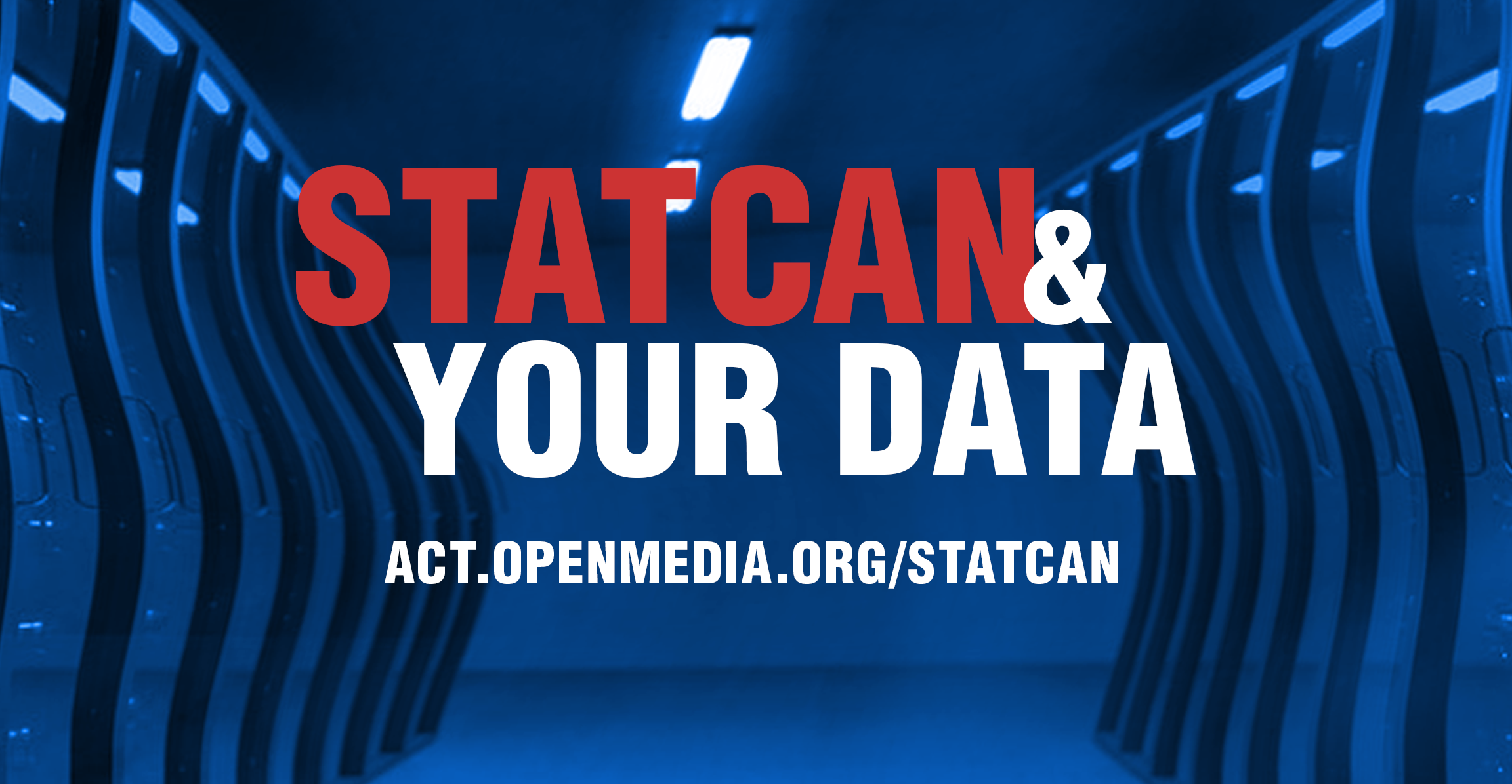 Dark data stacks, that says StatCan overtop