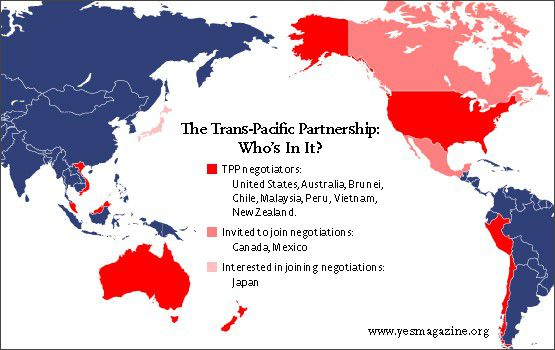 controversial trans pacific partnership agreement - 555×350